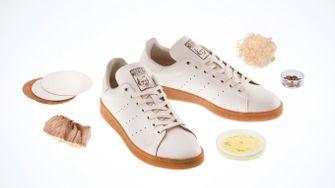 Stan Smith Mylo, adidas, sneakers, paddenstoelenleer