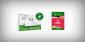 Xbox One S bundel met FIFA 20, gratis
