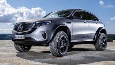 Mercedes-Benz onthult volledig elektrische EQC 4×4²
