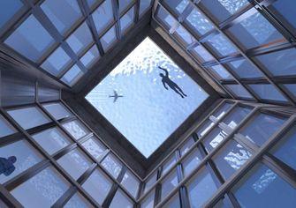 zwembad, infinity pool, londen, infinity london, 360 graden