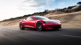 auto's, 2021, tesla roadster