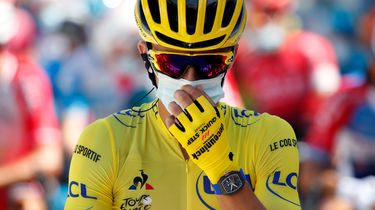 Julian Alaphilippe, tour de france, peperduur horloge, gele trui, Richard Mille RM 67, watch