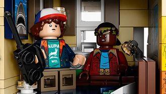 lego, bouwset, stranger things, halloween, 2021