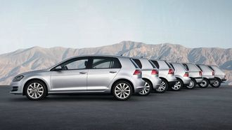 volkswagen, vw, golf 8, evolutie