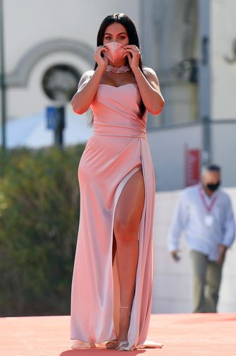 Georgina Rodriguez, meest sexy looks, venice film festival 2020