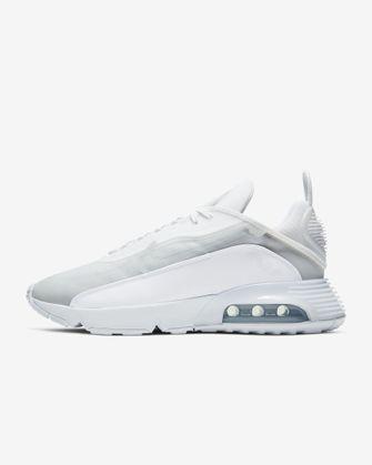 witte nike-sneakers, korting, sale