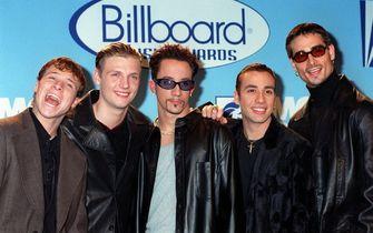 leren jas, backstreet boys, modetrends, jaren 90