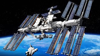 LEGO ISS front