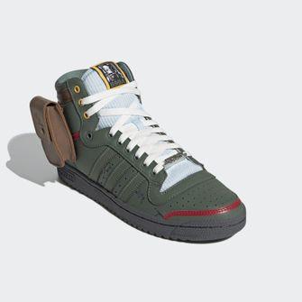 adidas, top ten hi, boba fett, star wars, sneakers, 5