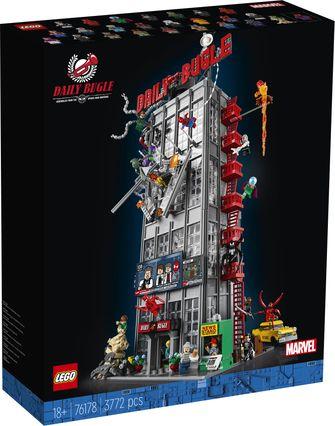 LEGO onthult grootste Marvel-set ooit Spider-Man