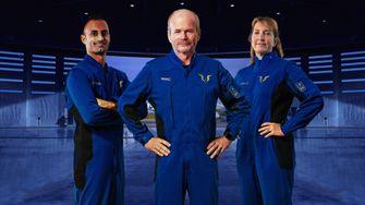 under armour, virgin galactic, ruimtepak, piloten