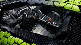 LEGO onthult Lamborghini Sián op ware grootte en vol details