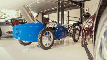 eerste elektrische auto, bugatti, geschiedenis