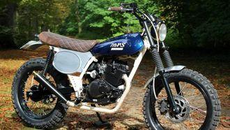betaalbare custom bikes, suzuki vanvan