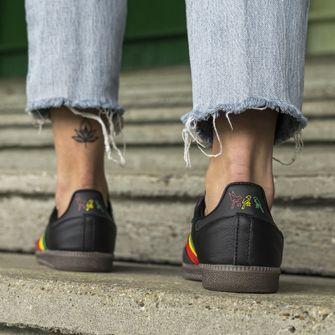 adidas samba, ajax, bob marley, reggae, sneakers, three little birds