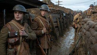 loopgraven, 1917, beste oorlogsfilm, netflix