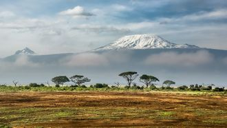 afrikaanse gletsjers, gesmolten, klimaat, reizen, 20 jaar