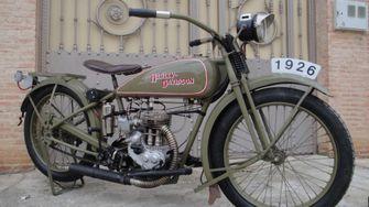 Harley-Davidson 1926 Model B 350cc