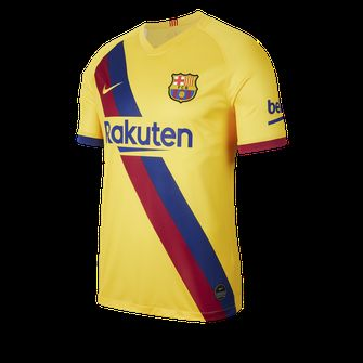 uitshirt fc barcelona, nike, frenkie de jong, mooiste voetbalshirts, seizoen 2019 2020