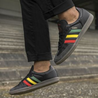 adidas samba, ajax, bob marley, reggae, sneakers, zijkant