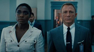 daniel craig, lashana lynch 007 Netflix