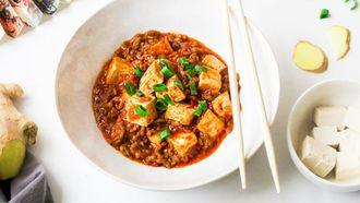 pittige recepten mapo tofu