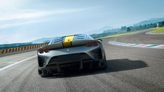ferrari limited edition v12, 812 superfast, aluminum
