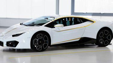 Lamborghini Huracán van de Paus te koop