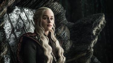 Daenerys Targaryen één van de hoofdpersonages uit Game of Thrones. De serie waarvan het achtste seizoen pas in 2019 zal verschijnen