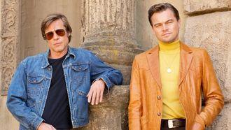 Eerste beeld: Brad & Leonardo in Tarentino's laatste film