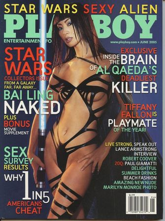 bai ling, star wars, playboy cover