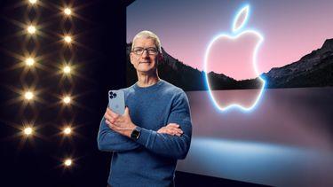 apple, iphone 13, aankondigen, event, tim cook