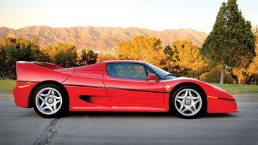 Ferrari F50, sebastian vettel, ferrari's, verkoop (1)