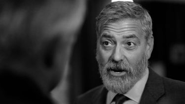 george clooney, interview. netflix-film, the midnight sky