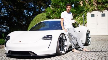 Mark Webber in Porsche Mission E