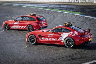 Forumule 1, Aston Martin Vantage, safety car, Mercedes-AMG
