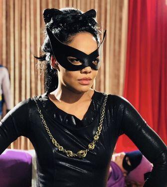Eartha Kitt , catwoman, sexy, zoe kravitz, 1
