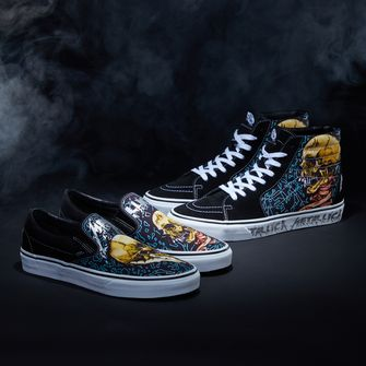 Vans X Metallica, sneakers, nieuwe releases, week 29