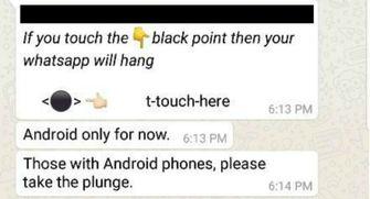WhatsApp bug crash