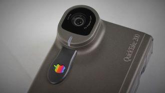 apple quicktake 200, digitaal fototoestel, 1994, flop