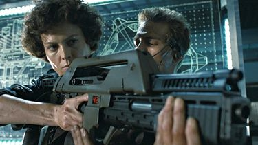 Aliens Nerf M41A Pulse Rifle film