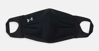 zwart mondkapje under armour tegen hooikoorts
