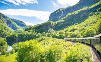 noorwegen, trein, visit norway