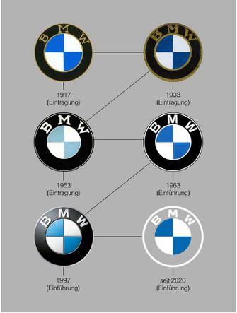 bmw, nieuw logo, transparant, minimalistisch, design