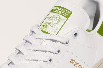 adidas star wars, yoda, sneakers, stan smith, do or do not