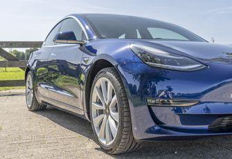 Tesla Model 3 design detail