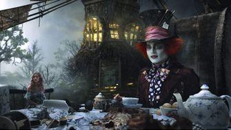 Johnny Depp in Alice in Wonderland Best betaalde filmrollen