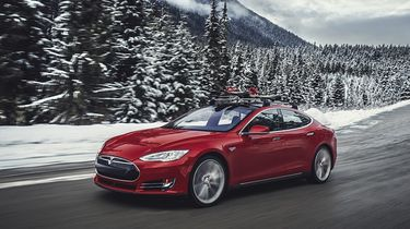 Tesla Model S terug