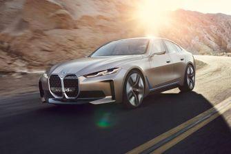 Concept i4, bmw, iconische auto's, 2021