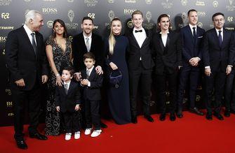 BALLON D'OR gala 2019, best geklede voetballers, frenkie de jong